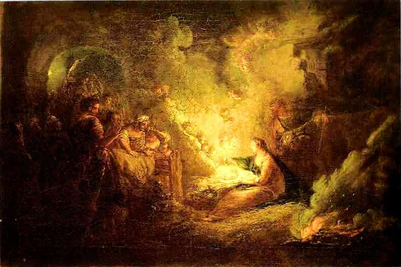18 Antoine Pesne. Birth of Christ. 1745. Oil on canvas, 48.5 x 72 cm. The Hermitage, St. Petersburg, Russia. More. ....Olga s gallery