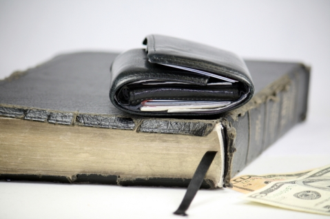 Bible-Wallet-Church-Pastor-Compensation_iStock_000007088099Small