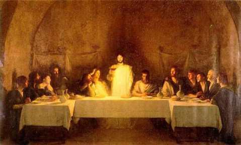 Last-Supper-by-Pascal-Adolphe-Dagnan-Bouveret