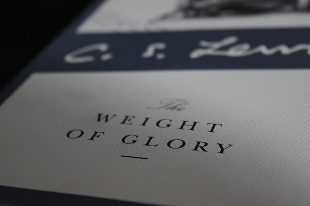 CSLewis Weight of Glory