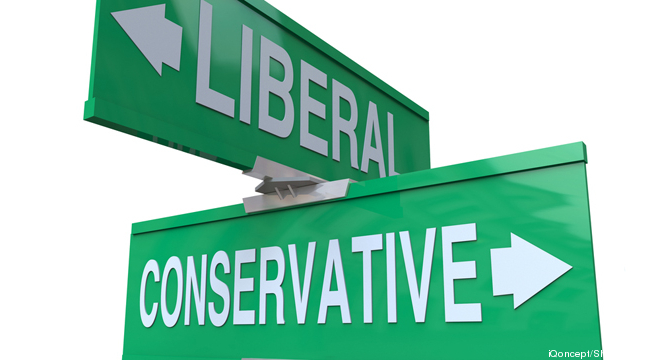 conservative-liberal-road-sign