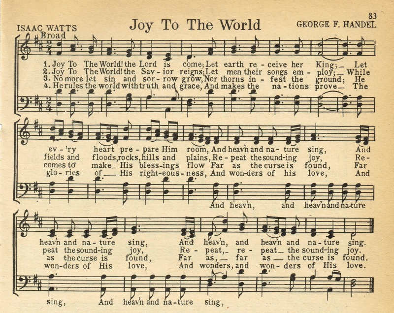 Joy-To-the-World-antique-Christmas-song-page