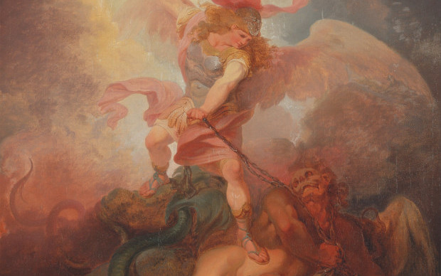 Philippe-Jacques_de_Loutherbourg_-_The_Angel_Binding_Satan_-_Google_Art_Project-e1456868412178