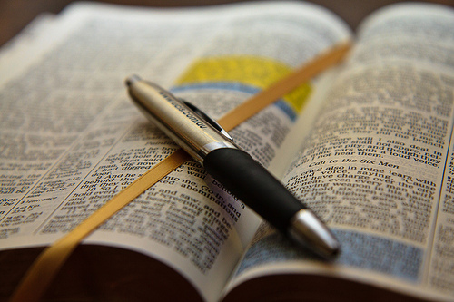 Open-Bible-with-Pen