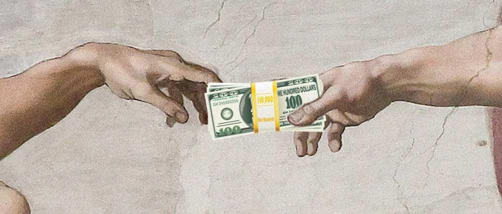 God-giving-Adam-Money-prosperity-gospel